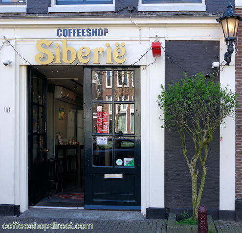 coffee shop Siberie, Amsterdam, Noord Holland for cannabis