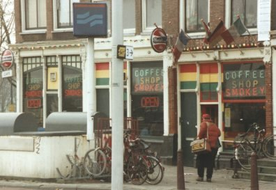 coffee shop Smokey, Amsterdam, Noord Holland for cannabis. Historical information about a closed business.