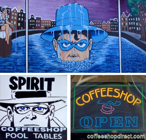 coffee shop Spirit, Amsterdam, Noord Holland for cannabis