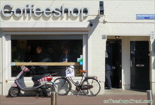 coffee shop The Stud, Amsterdam, Noord Holland for cannabis with address, telephone number, opening times, email address, Facebook, Instagram, reviews, menu, map, inside view, picture