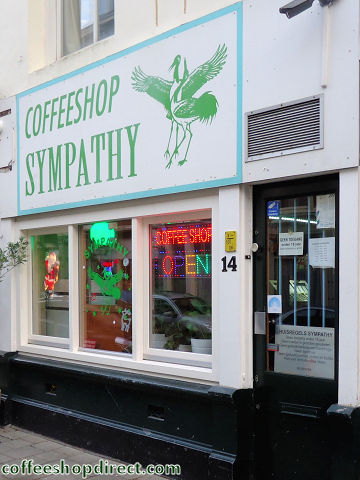 coffee shop Sympathy, The Hague ('s-Gravenhage, Den Haag), Zuid Holland for cannabis with address, telephone number, opening times, reviews, map, picture