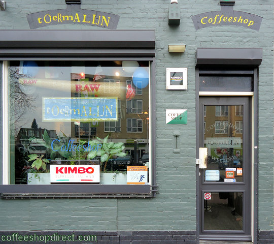 coffee shop Toermalijn, Tilburg, Noord Brabant for cannabis with address, telephone number, opening times, reviews, map, picture