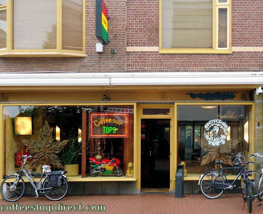 coffee shop Tops, Den Helder, Noord Holland for cannabis with address, telephone number, opening times, email address, Instagram, reviews, map, picture