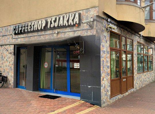 coffee shop Tsjakka, Den Helder, Noord Holland for cannabis with address, telephone number, Facebook, reviews, map, picture
