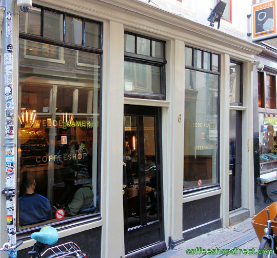 coffee shop Tweede Kamer, Amsterdam, Noord Holland for cannabis with address, telephone number, opening times, Facebook, Instagram, reviews, menu, map, inside view, picture