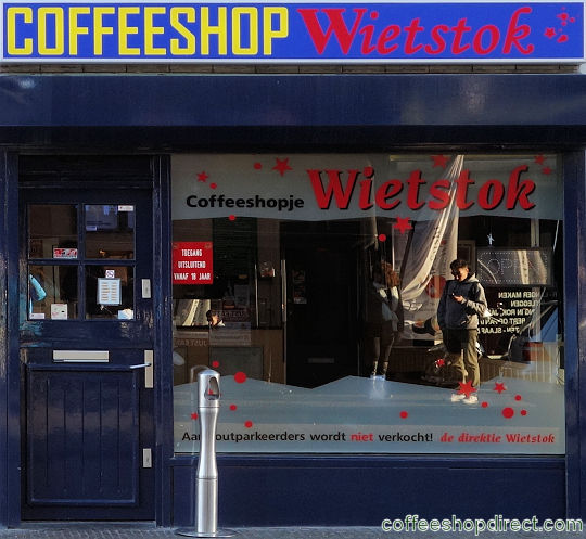 coffee shop Wietstok, Utrecht, Utrecht for cannabis with address, telephone number, opening times, reviews, menu, map, picture