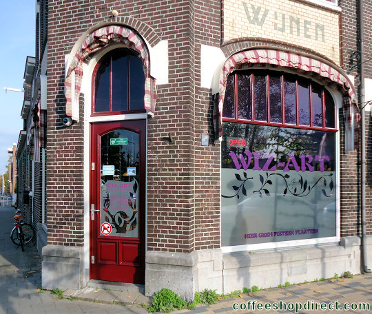 coffee shop Wiz-Art, Stadskanaal, Groningen for cannabis with address, telephone number, opening times, Facebook, Instagram, reviews, map, picture