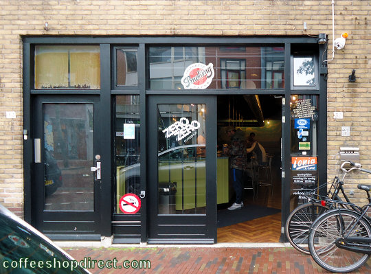 coffee shop Zero Zero, Alkmaar, Noord Holland for cannabis with address, telephone number, opening times, Facebook, Instagram, reviews, menu, map, picture