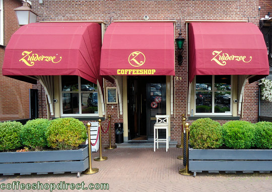 coffee shop Zuiderzee, Hoorn, Noord Holland for cannabis with address, telephone number, opening times, reviews, menu, map, picture